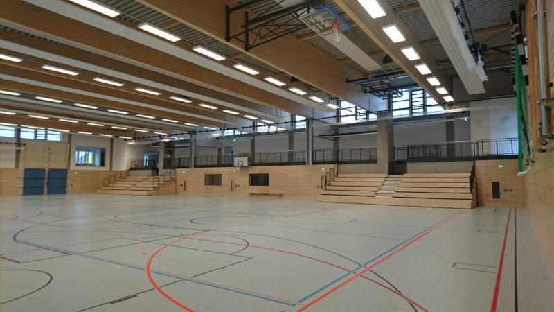 Dreifeldsporthalle Sandesneben | Architekt Freinsheimer