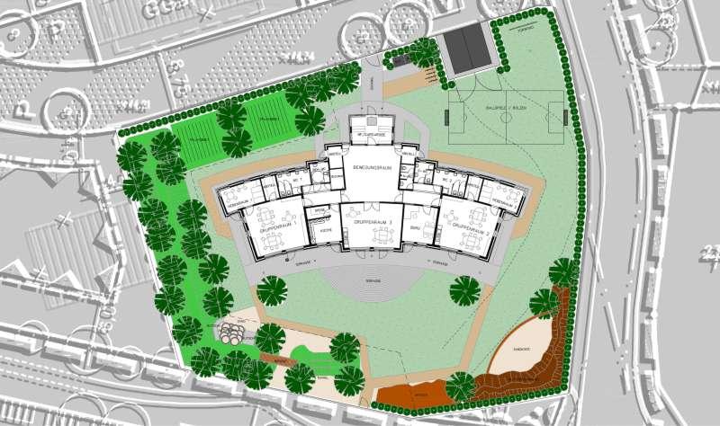 Reinbek, Kita Robinienweg | Architekturbüro Freinsheimer