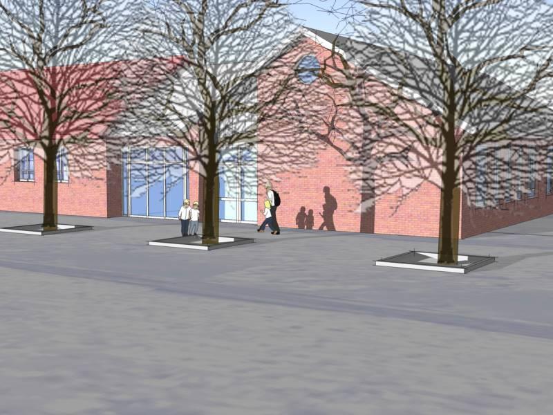 Reinbek, Schule Mühlenreder, Pavillon | Architekt Freinsheimer
