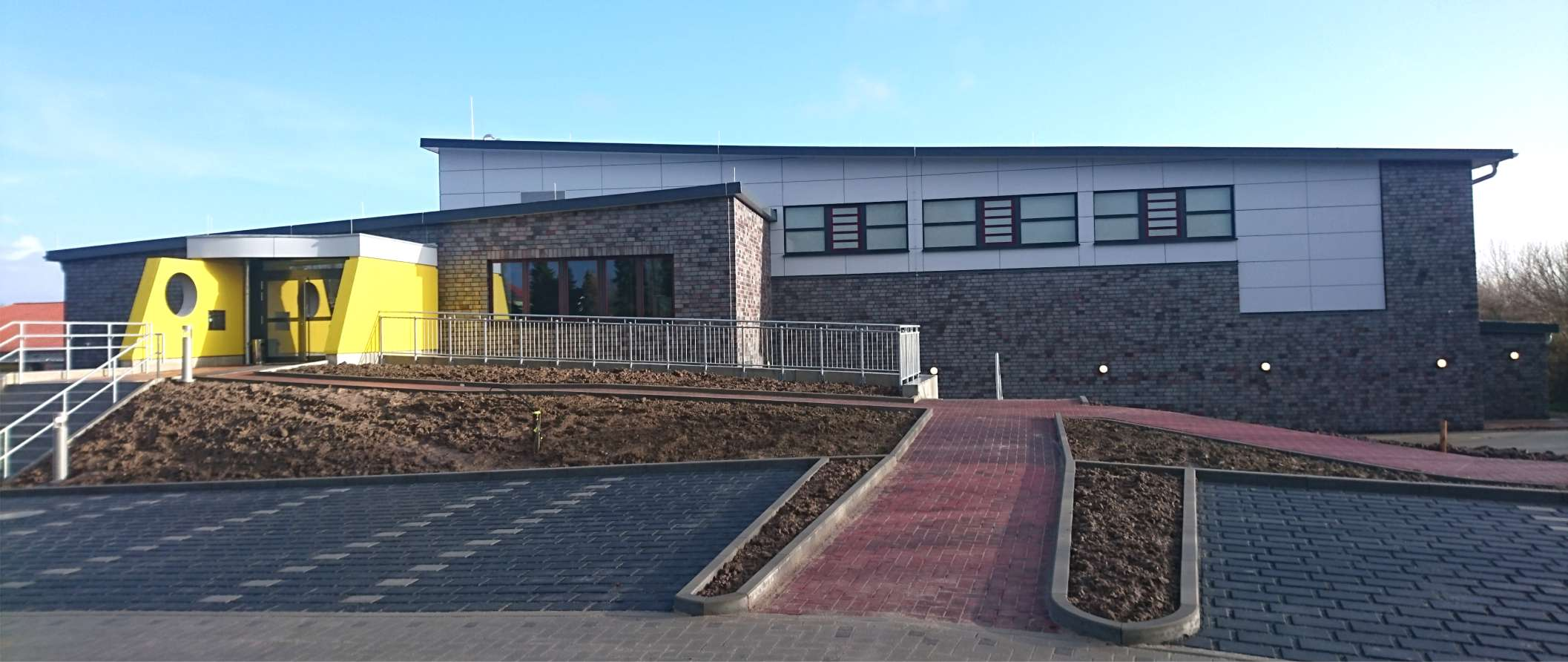 Dreifeldsporthalle | Neubau - Architekturbüro Freinsheimer