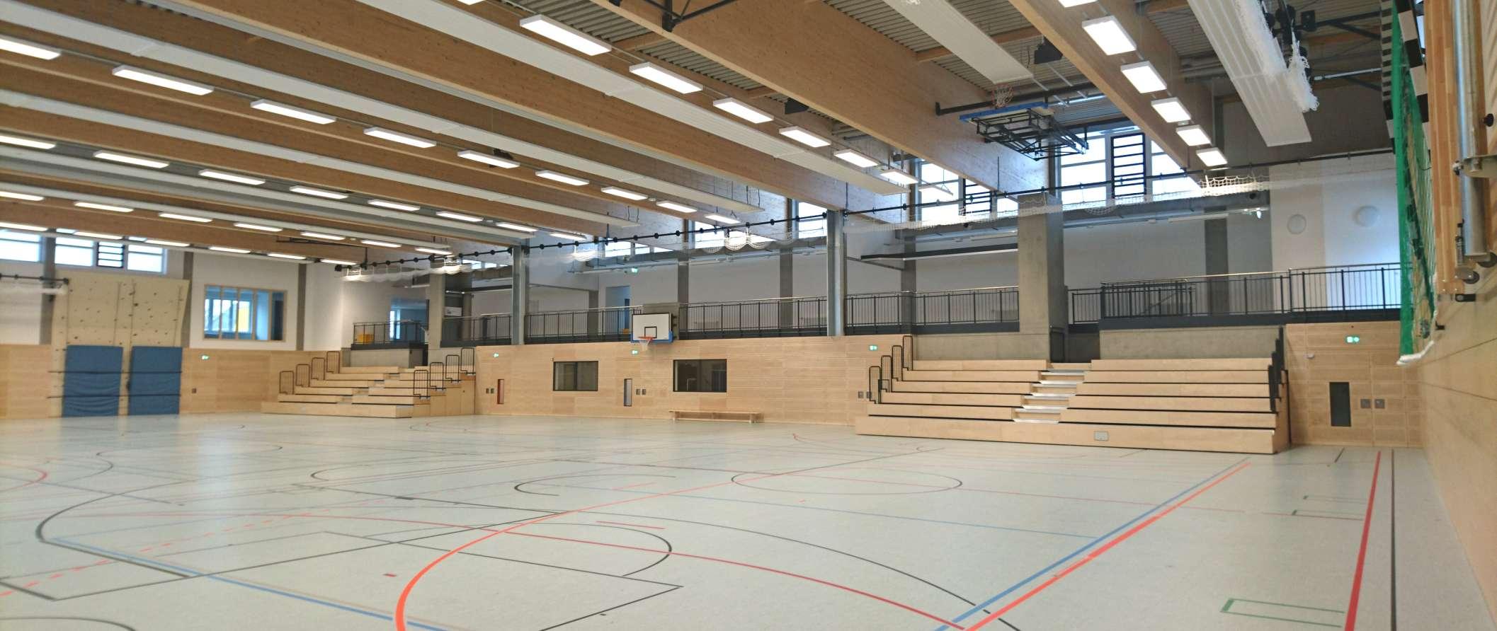 Dreifeld-Sporthalle | Innenansicht